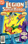 Cover for The Legion of Super-Heroes (DC, 1980 series) #282 [Newsstand]