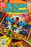 Cover for The Legion of Super-Heroes (DC, 1980 series) #285 [Newsstand Edition]