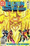 Cover for The Legion of Super-Heroes (DC, 1980 series) #288 [Newsstand Edition]
