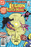 Cover for The Legion of Super-Heroes (DC, 1980 series) #310 [Newsstand]