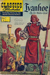 Cover for Classics Illustrated (Gilberton, 1947 series) #2 [HRN 136] - Ivanhoe [Twin Circle]