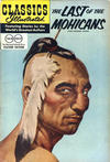 Cover for Classics Illustrated (Gilberton, 1947 series) #4 [HRN 150] - The Last of the Mohicans [Twin Circle]