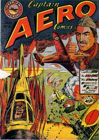 Cover Thumbnail for Captain Aero Comics (Holyoke, 1942 series) #v2#4 (10)
