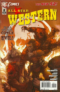 Cover Thumbnail for All Star Western (DC, 2011 series) #2