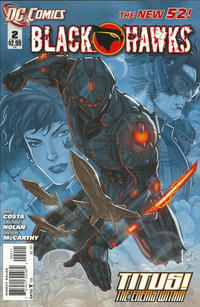 Cover Thumbnail for Blackhawks (DC, 2011 series) #2
