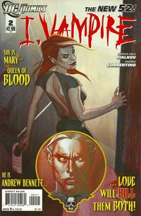 Cover Thumbnail for I, Vampire (DC, 2011 series) #2