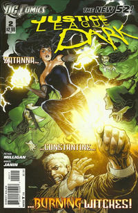 Cover Thumbnail for Justice League Dark (DC, 2011 series) #2