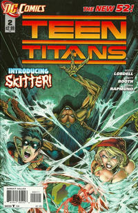 Cover Thumbnail for Teen Titans (DC, 2011 series) #2