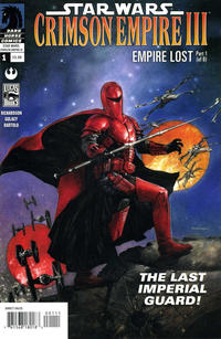 Cover Thumbnail for Star Wars: Crimson Empire III - Empire Lost (Dark Horse, 2011 series) #1