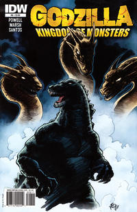 Cover Thumbnail for Godzilla: Kingdom of Monsters (IDW, 2011 series) #8 [Eric Powell standard cover]