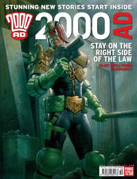 Cover Thumbnail for 2000 AD (Rebellion, 2001 series) #1750