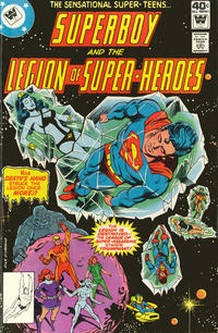 Cover Thumbnail for Superboy & the Legion of Super-Heroes (DC, 1977 series) #254 [Whitman]