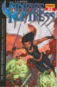 Cover Thumbnail for L.A. Banks' Vampire Huntress: The Hidden Darkness (Dynamite Entertainment, 2010 series) #3