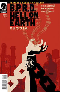 Cover Thumbnail for B.P.R.D. Hell on Earth: Russia (Dark Horse, 2011 series) #2 [83]