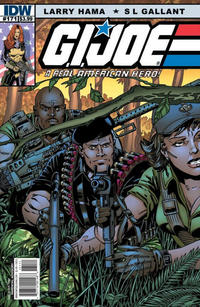 Cover Thumbnail for G.I. Joe: A Real American Hero (IDW, 2010 series) #171 [Cover B]