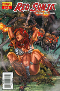Cover for Red Sonja (Dynamite Entertainment, 2005 series) #33 [Ken Kelly Cover]