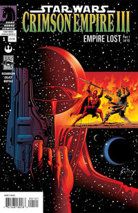 Cover Thumbnail for Star Wars: Crimson Empire III - Empire Lost (Dark Horse, 2011 series) #1 [Paul Gulacy Variant Cover]