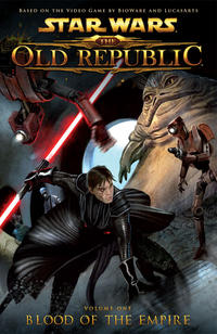Cover Thumbnail for Star Wars: The Old Republic (Dark Horse, 2011 series) #1 - Blood of the Empire