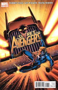 Cover Thumbnail for Secret Avengers (Marvel, 2010 series) #17