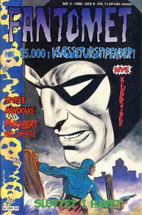 Cover Thumbnail for Fantomet (Semic, 1976 series) #5/1988