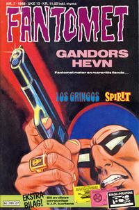 Cover Thumbnail for Fantomet (Semic, 1976 series) #7/1988
