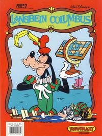 Cover Thumbnail for Langbein album (Hjemmet / Egmont, 1977 series) #2 - Langbein Columbus [2. opplag Reutsendelse bc-F 147 35]