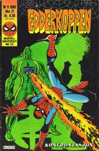 Cover Thumbnail for Edderkoppen (Semic, 1984 series) #5/1986