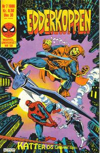 Cover Thumbnail for Edderkoppen (Semic, 1984 series) #7/1986