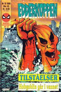 Cover Thumbnail for Edderkoppen (Semic, 1984 series) #10/1986