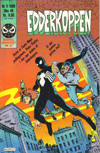 Cover Thumbnail for Edderkoppen (Semic, 1984 series) #11/1986