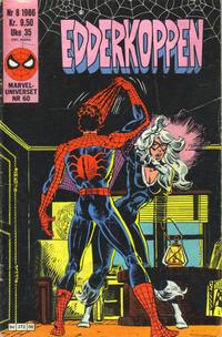 Cover Thumbnail for Edderkoppen (Semic, 1984 series) #8/1986