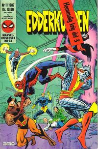 Cover Thumbnail for Edderkoppen (Semic, 1984 series) #11/1987