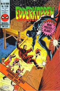 Cover Thumbnail for Edderkoppen (Semic, 1984 series) #10/1988
