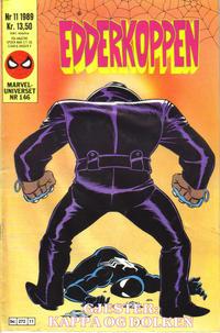 Cover Thumbnail for Edderkoppen (Semic, 1984 series) #11/1989