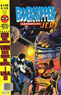 Cover Thumbnail for Edderkoppen (Semic, 1984 series) #8/1990