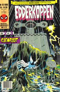 Cover Thumbnail for Edderkoppen (Semic, 1984 series) #10/1990