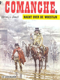 Cover Thumbnail for Comanche (Le Lombard, 1972 series) #5 - Nacht over de woestijn