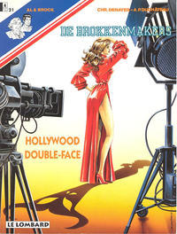 Cover Thumbnail for De Brokkenmakers (Le Lombard, 1985 series) #21 - Hollywood double-face