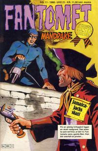 Cover Thumbnail for Fantomet (Semic, 1976 series) #11/1988
