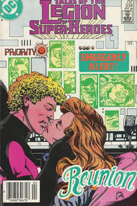 Cover Thumbnail for Tales of the Legion of Super-Heroes (DC, 1984 series) #334 [Newsstand Edition]