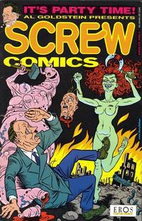 Cover Thumbnail for Screw Comics (Fantagraphics, 1992 series) #1