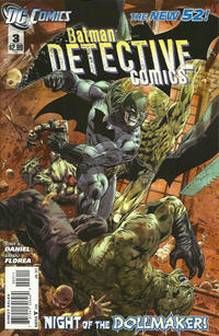 Cover Thumbnail for Detective Comics (DC, 2011 series) #3 [Direct Sales]