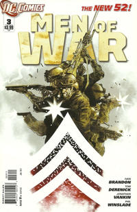 Cover Thumbnail for Men of War (DC, 2011 series) #3