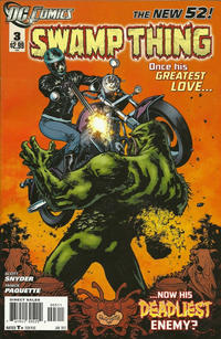 Cover Thumbnail for Swamp Thing (DC, 2011 series) #3