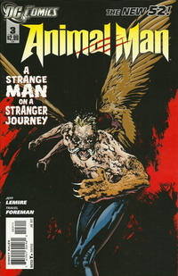 Cover Thumbnail for Animal Man (DC, 2011 series) #3