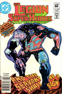 Cover Thumbnail for The Legion of Super-Heroes (DC, 1980 series) #290 [Newsstand]