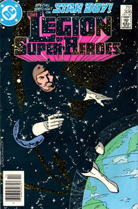 Cover Thumbnail for The Legion of Super-Heroes (DC, 1980 series) #306 [Newsstand]