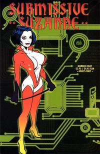 Cover for Submissive Suzanne (Fantagraphics, 1991 series) #8