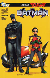 Cover Thumbnail for Batman (Planeta DeAgostini, 2007 series) #35