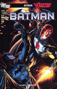 Cover Thumbnail for Batman (Planeta DeAgostini, 2007 series) #37